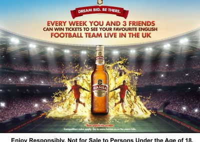Hansa – EPL Dream Big Campaign