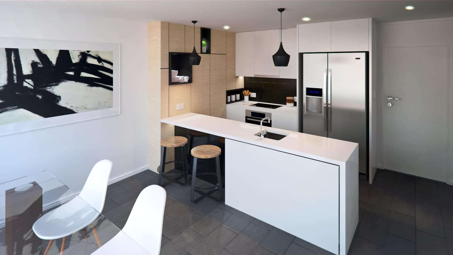 Wynnum Rd_Unit 2C_Kitchen-draft